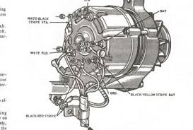 alternator wiring diagram ford mustang ewiring 2005 ford explorer alternator wiring diagram schematics