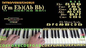 Gold Kiiara Piano Lesson Chord Chart