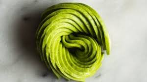 How To Make An Avocado Rose Healthy Nibbles