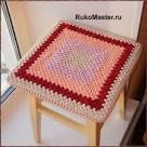 Вязание крючком схемы сидушек для стула
