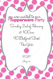Tupperware Party Invitations Tupperware Party Invitation Created This Invitation Using Photoshop