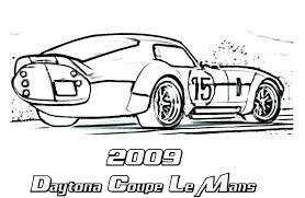 Car Coloring Pages For Preschoolers Page Printouts Sports Colouring