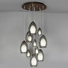 multi pendant lighting oval clear glass shade white led bulb wire string cord hanging fire chandelier24