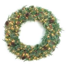 48 in syracuse cashmere berry artificial wreath with 200 warm white led light bowothd171d the
