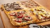 4 square family pizza