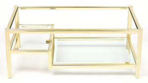 Antique Brass Glass Coffee Table Coffee Table Captivating Brass Glass Coffee Table Design Ideas