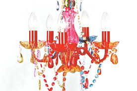 small red chandelier shades designs
