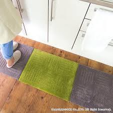 x 60 cm 2 disc washable washable washable kitchen mats kitchen mats kitchen rug tile mat mat joint pile pet adsorbed solid orange green beige brown