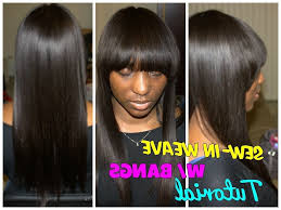 Sew In Hairstyles Long Hair Full Sew In Tutorial All About Sewing Tools