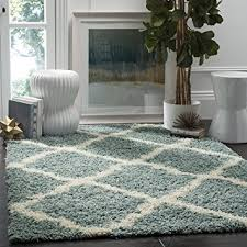 seafoam green area rug. Safavieh Dallas Shag Collection SGD257C Seafoam And Ivory Area Rug, 5 Feet 1 Inches By Green Rug T