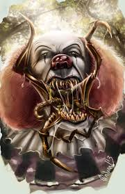 my version of pennywise by disse on  pennywise by josegalvan