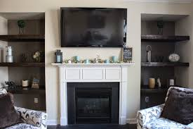 how to build shelves next to fireplace img 3416