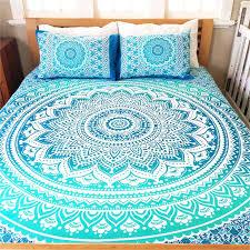 boho bedding king excellent mandala set throw hippie size bed decor comforters boho bedding