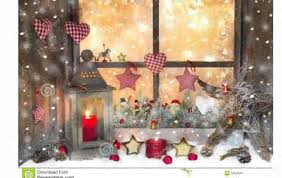 Window Decoration Christmas Window Decorations Youtube