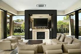 mounting flat screen tv above fireplace beautiful