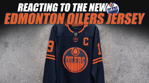 A personalized certificate of authenticity. Reacting To The New Edmonton Oilers Jersey Youtube
