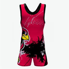 Wholesale Bulk Custom Sublimation Printed Youth Wrestling
