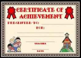 Free Printable Academic Award Certificates Download Them