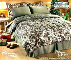 camo bedding sets king set orange bed pink sheets full military queen