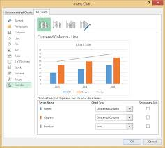 How To Insert A Chart In Excel 2013 Excel 2013 2010 2007 Chart Options