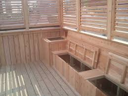 magnificent deck storage bench with deck bench seat yelp pinteres for balcony storage decorating amazing