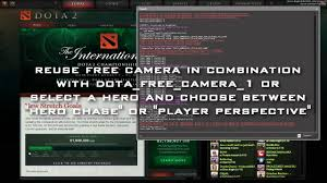 dota 2 dota free camera tutorial youtube