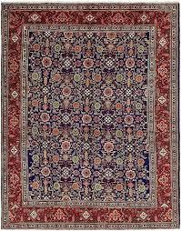 main image of rug navy oriental blue area rugs