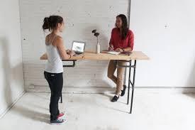 diy standing desk project