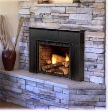 ventless gas fireplace insert propane modern gas fireplace insert