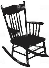 rocking chair silhouette. Chair Silhouette Royalty-free Stock Vector Art \u0026amp; More Images Of Back Rocking T