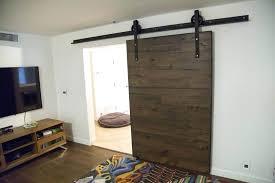 painted barn doors interior wonderful dark brown wood textured sliding barn door decor interior with white