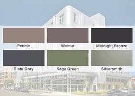 Bluescope Color Chart Aep Span Launches New Colors Metal Wall And Roofing Panels