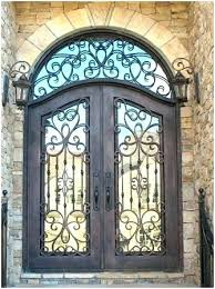 glass front doors with iron. Wonderful Iron Iron And Glass Front Doors Architecture  Beautiful Design   Intended Glass Front Doors With Iron N