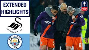 Manchester city boss pep guardiola says that in the absence of the injured sergio aguero and kevin de bruyne, goalkeeper ederson could take any penalties in the fa cup encounter against swansea. City Fight Back To Make The Semi Final Swansea 2 3 Manchester City Emirates Fa Cup 18 19 Youtube