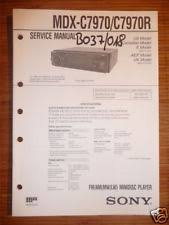 sony mdx c service manual sony mdx c7970 c7970r mini disc player or