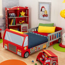 cool kids beds. Awesome Modern Car Bed For Kids With Red Truck Design Cool Beds S