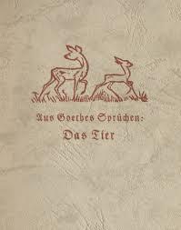 Das Goethezeitportal Goethes Sprüche Zu Tieren