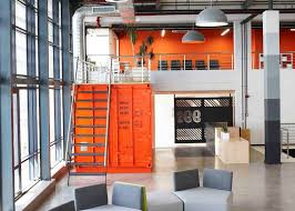 office orange. Dezeen Magazine Office Orange