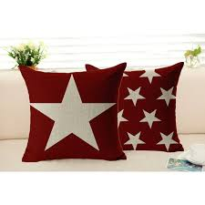 throw pillows with removable covers.  Pillows Star Pillowcase Cotton Linen Cushion Cover Sofa Chair Seat Removable And  Washable Throw Decorative Pillows For With Covers P