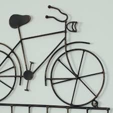 black bicycle vintage wall hooks black bicycle vintage wall hooks