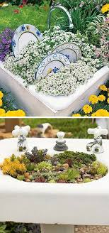 24 creative garden container ideas with pictures sinks