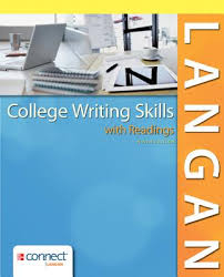 college writing skills readings book by john langan  college writing skills readings langan john