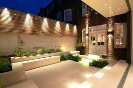 Stupendous modern exterior lighting Outdoor Wall Garden Altermerimediacom Garden Lighting Uk Solar Garden Lights Solar Garden Lights Luxury