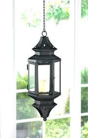 outdoor large glass lanterns floor candle lantern lamp wholer supplier black