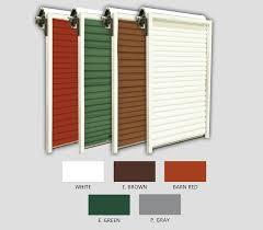garage door colors