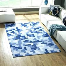 blue area rug 5x8 blue rug area rugs interlocking block mosaic rug in multicolored light and