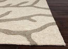 R Coastal Living Collection Coral IndoorOutdoor Area Rug In White By Jaipur