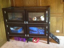 ana white s free two story rabbit hutch