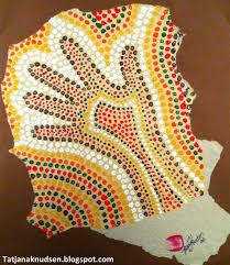 aboriginal art dot painting for kids