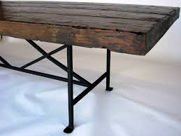 Iron Dining Table Legs Metal Wood Dining Table Free Image